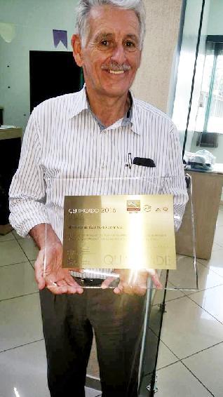 Sr. Bernardino com o Certificado PQEC + ISO 2016
