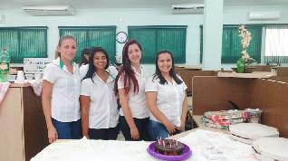 Aniversariantes: Milene, Fabiana, Nayara e Ana Paulo Silvério.